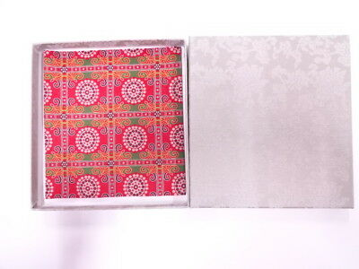 11740# Japanese Tea Ceremony / New! Fancy Box For Kofukusa (Silk Cloth) / Kinran
