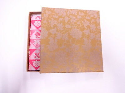 11738# Japanese Tea Ceremony / New! Fancy Box For Dashifukusa (Silk Cloth) / Kin
