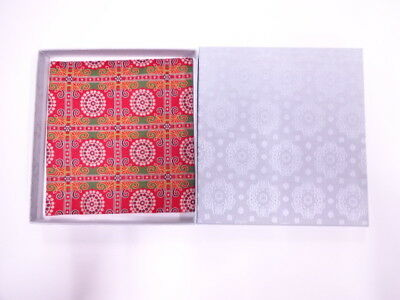 11746# Japanese Tea Ceremony / New! Fancy Box For Kofukusa (Silk Cloth) / Kinran