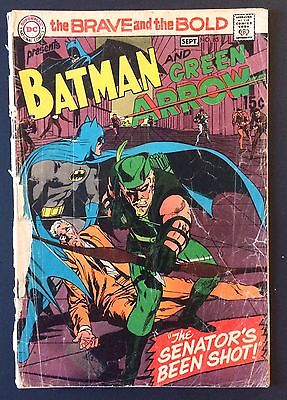 Brave and the Bold #85 (DC) 1st New Green Arrow Costume - Low Grade - Neal Adams