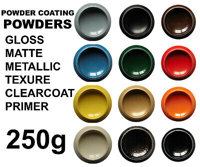 Powder Coating Powder 180g RAL colours Gloss Matte Mettalic Texture Clear Primer