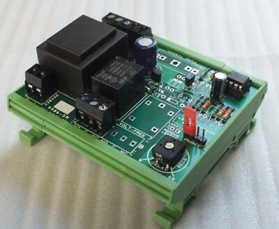 Handly little Relay with Delay Timer 12v AC/DC or 240vAC Operating DIN Rail