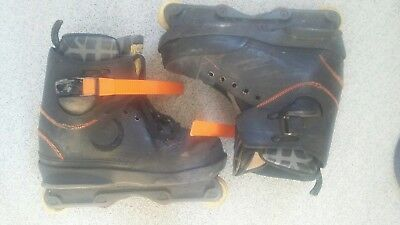 Nimh aggressive inline Rollerblades with Vicious liners size UK 8