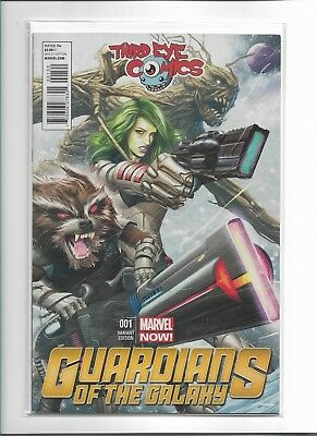 Guardians Of The Galaxy # 1 NM Variant Cover Marvel Comic Book Third Eye