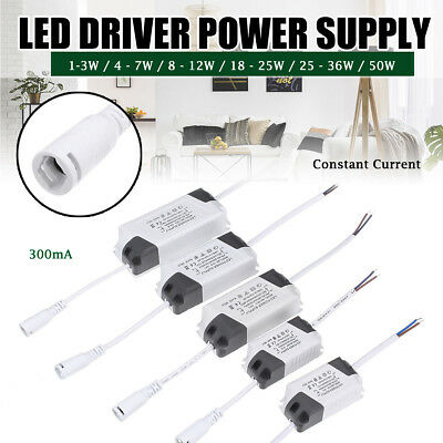 LED Driver Adapter AC85-265V To DC Transformer panel Power Supply LED Strip