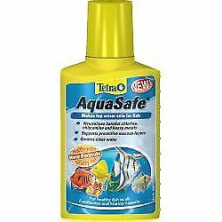 Tetra AquaSafe Fish Plant Pond Treatment Creates Natrual Water 100ml