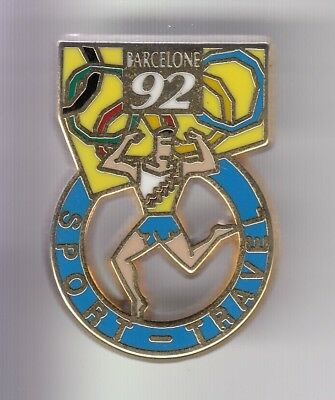 Rare Pins Pin's .. Olympique Olympic Barcelone Barcelona 1992 Sport Travel ~18