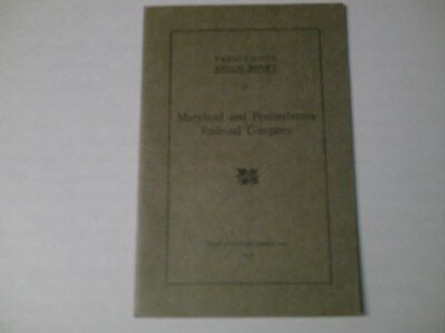Maryland And Pennsylvania RR  Twenty-Ninth Annual Report 32 P.  December 31,1929
