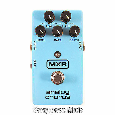 MXR Analog Chorus M234 Electric Guitar Effects Pedal Dunlop M 234