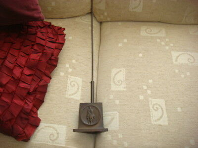 rare bronze military man on horse back, well cast  flag pole stand i think ?