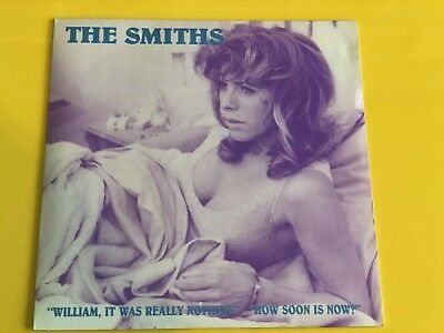 """The Smiths - William It Was Really Nothing Billie Whitelaw 7"""" Cover"""