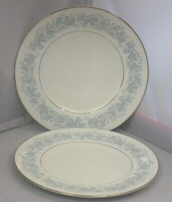 2 Royal Doulton Meadow Mist English China Dinner Plates H5007 - more available