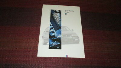 1994 Bmw M3 Coupe Sales Brochure.