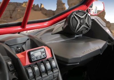 Can-Am Maverick X3 and X3 Max 6.5in On-Dash Speaker Pod