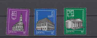 Lithuania 1994 City Town Halls Complete Set Mint Never Hinged