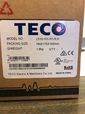 Teco AC DRIVE L510-101-H1-NA Frequency Inverter