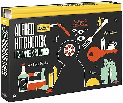 Blu-ray Alfred Hitchcock - Les Années Selznick [Édition Coffret Ultra Collector