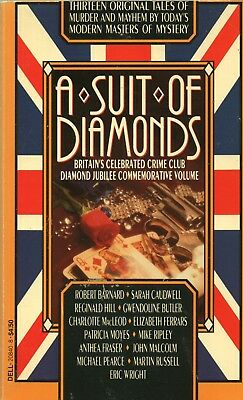 A Suit Of Diamonds Edited By Britains Crime Club Dell Books Pb 1991 1st