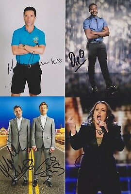 20 UK TELEVISION -  Hand Signed photos - 6x4 inches - Clearout sale  Autographs