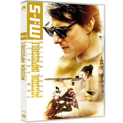 DVD - Mission: Impossible - Rogue Nation - Tom Cruise, Jeremy Renner, Simon Pegg