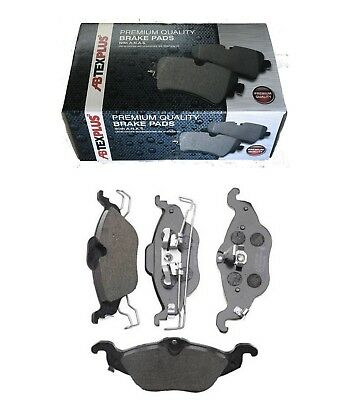 Front Abtex Plus Premium Brake Disc Pads Fits Vauxhall Astra Mk4 G Plu3671