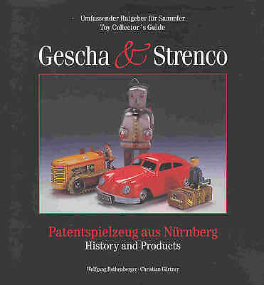 """gescha & Strenco""++ All Toys Ever Made !+++ Priceguide+++Neu/new/neuf !"