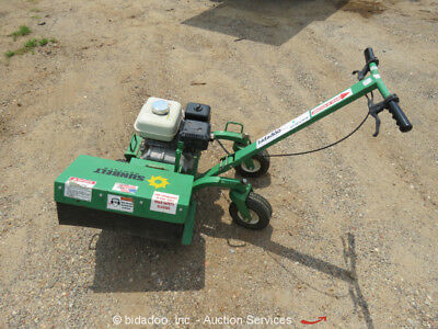 EZ-Trench Bed Scraper BE400 Edger Tiller Walk-Behind Honda GX200 Gas Engine
