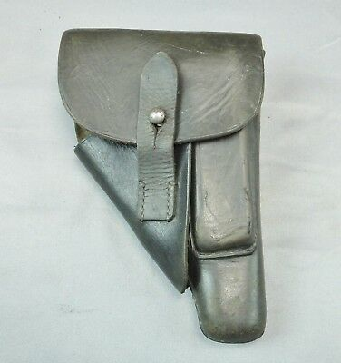 WWII German Holster for Walther PPK Pistol Marked Akah