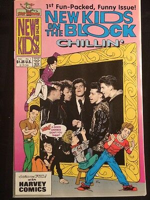 New Kids On The Block Chillin #1 (Harvey Comics) combine shipping discount