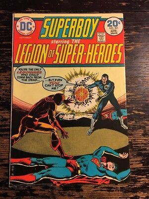 DC Comics Superboy #201 Re-intro Erg as Wildfire Bronze Age