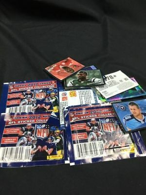 PANINI NFL 2012 Sticker collection - 7 sealed packs - (6330)