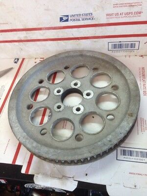 Harley Davidson 40117-00 Final Belt Drive Pulley 70 Tooth Oem Used