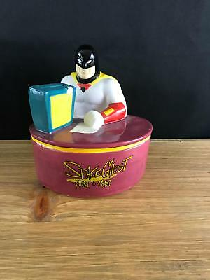 AS-IS Warner Brothers 1998 Space Ghost Cartoon Network Coin Bank COAST TO COAST