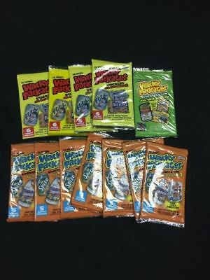 TOPPS Wacky Packages Sticker packs x 12 packs (64 sticker cards) RARE - (6333)
