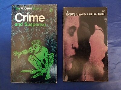 Playboy Book Crime & Suspense #BA116 1968 1st Stories Strange & Sinister 124 VG