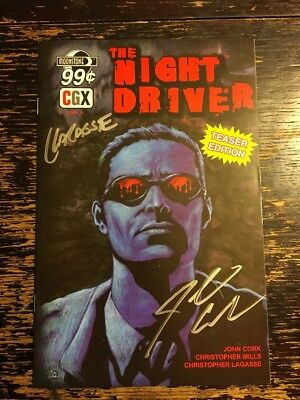 The Night Man Signed By John Cork & Christopher Lagasse