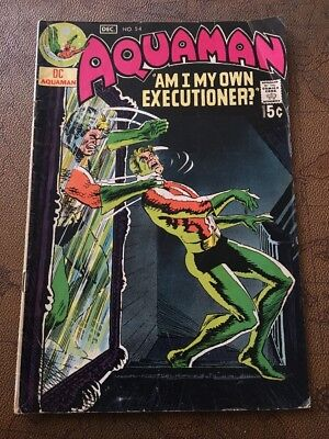 Aquaman #54 Jim Aparo (DC 1970) combine shipping discount