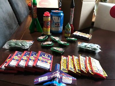 Fireworks **Missiles and Pyro Cola 26 pcs Assortment Bundle** Firecracker