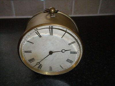 Nice Old 8 Day Dead Beat Wind Up Clock V.a.p.brevete S.d.c.g.anti Clockwise Wind