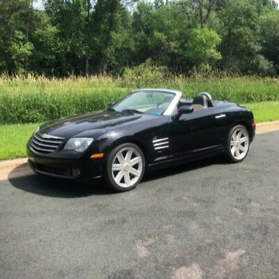 2005 Chrysler Crossfire Limited 2005 Chrysler Crossfire Limited Convertible Automatic