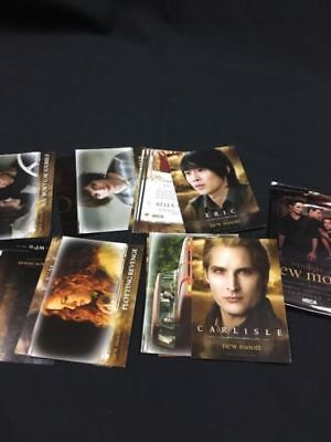 NECA The Twilight Saga 2009 CCG Cards 25 loose cards + 6 in sealed pack (6344