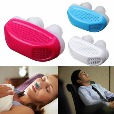 Airing Micro CPAP Snoring Device Anti Snore For Sleep Apnea Air Purifier Tool YG