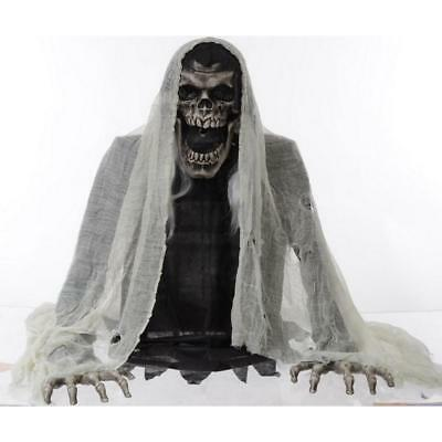 Halloween 27 in Wretched Reaper Animated Fog Machine Accessory Easy Installation