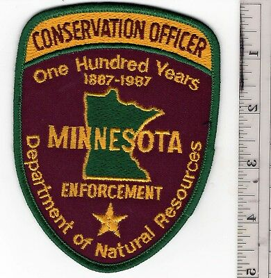 Minnesota Conservation Officer one Hundred Years Enforcement