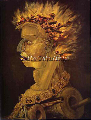 Arcimboldo6 Artist Painting Reproduction Handmade Oil Canvas Repro Wall Art Deco