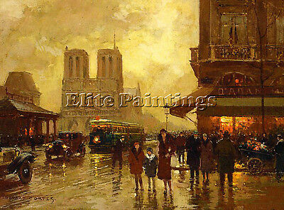 Cortes Edouard French 1882 1969 Artist Painting Oil Canvas Repro Wall Art Deco