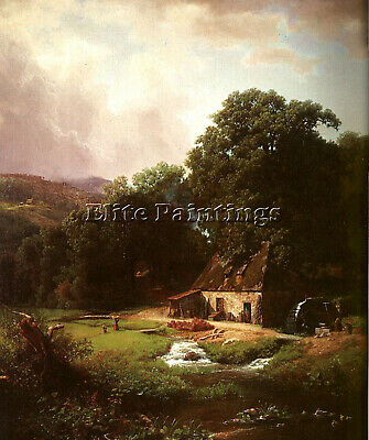 Bierstadt4 Artist Painting Reproduction Handmade Oil Canvas Repro Wall Art Deco