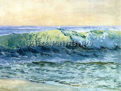 Bierstadt Albert The Wave Artist Painting Handmade Oil Canvas Repro Art Deco