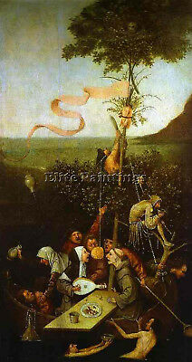 Hieronymus Bosch 18 Artist Painting Reproduction Handmade Oil Canvas Repro Deco