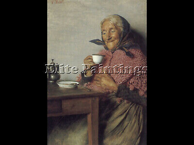 A Good Brew Artist Painting Reproduction Handmade Oil Canvas Repro Wall Art Deco